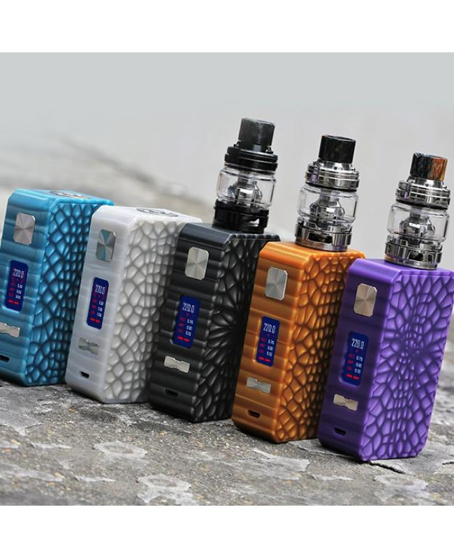 Eleaf Saurobox 220W Vape Kit With 6.5ml Ello Duro Tank