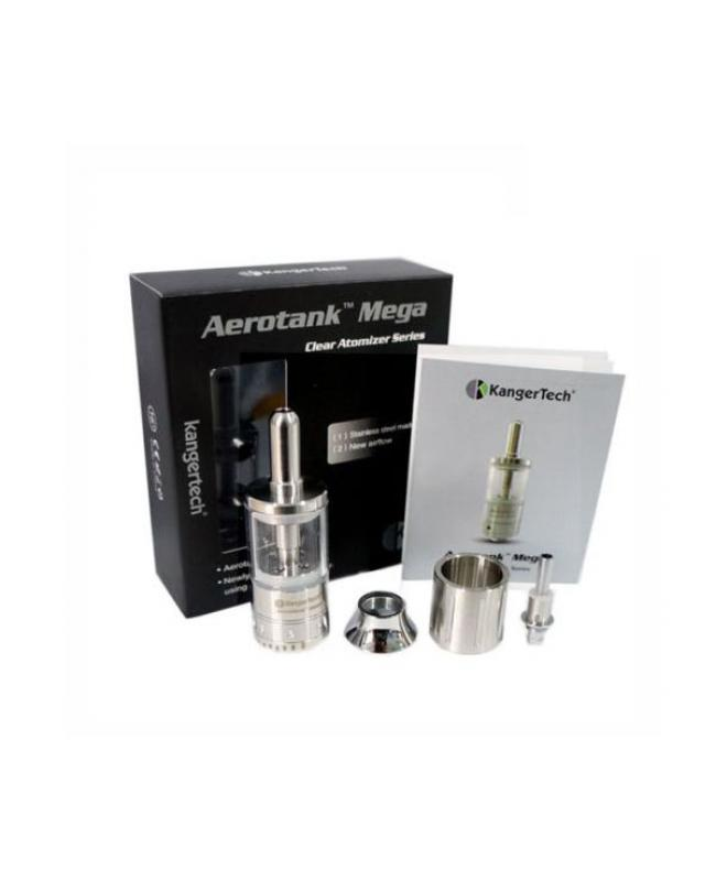 Kanger AeroTank MEGA Dual Coil Adjustable Air Flow Clearomizer Tank