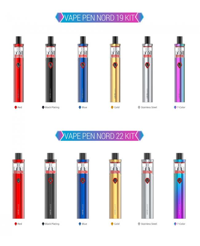 Vape Pen Nord 22 Colors Available
