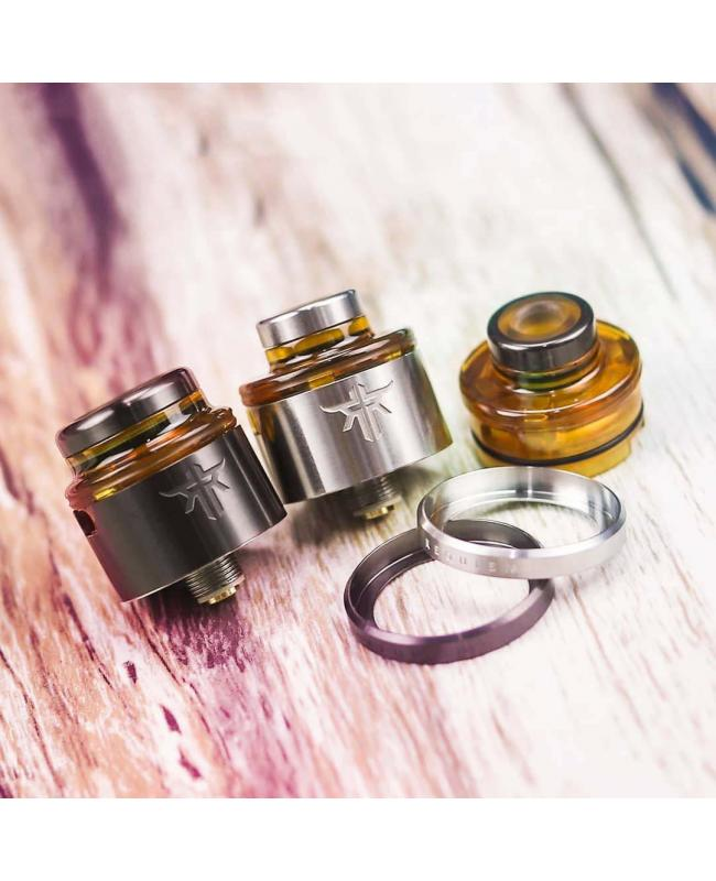 Requiem RDA With 24mm Beauty Rings