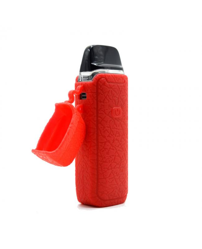 Red Vaporesso Luxe PM40 Pod Kit With Drip Tip Cover
