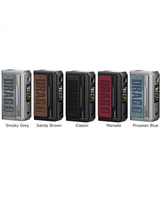 Drag 3 Box Mod Colors Available