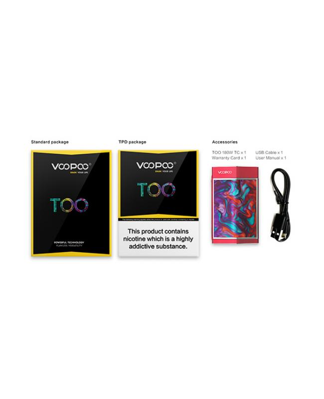 Voopoo RESIN TOO Vape Mods