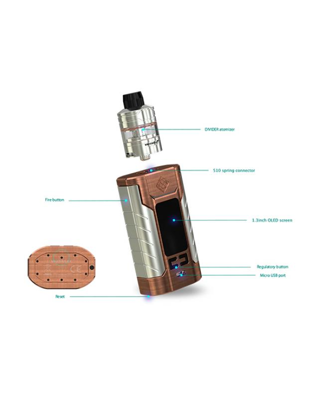 Wismec Sinuous FJ200 Vapor Mod Kit