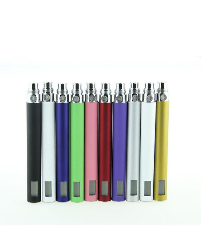 Colorful LCD Electronic Cigarettes Battery 650mah 900mah 1100mah