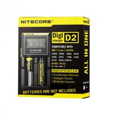 Nitecore D2 2Slot Battery Charger With LCD Screen