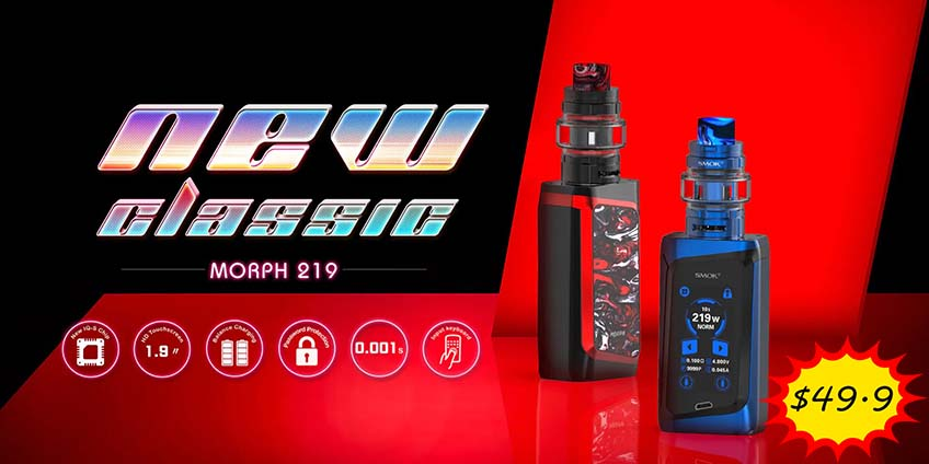 Smok Morph 219W Kit On Sale