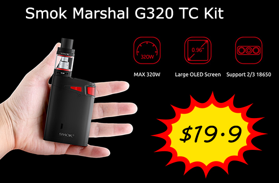 Smok Marshal G320 Deal