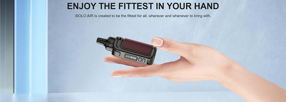 Eleaf iSolo Air Fit In Your Hand