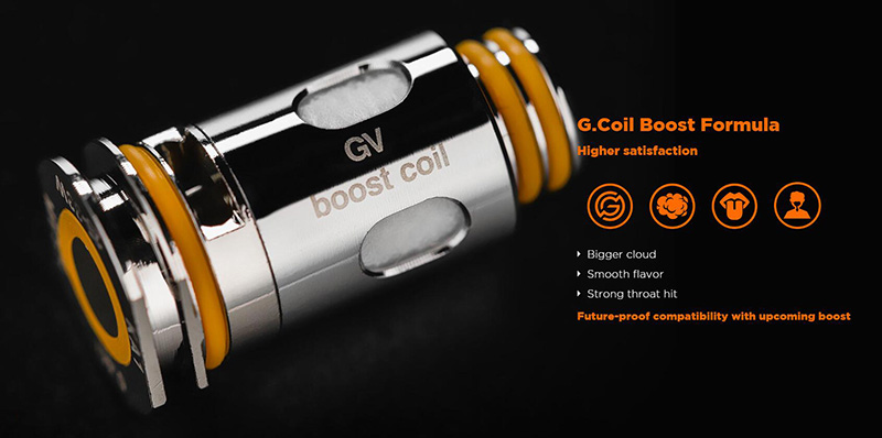 Aegis Boost Plus Compatible With G Coils