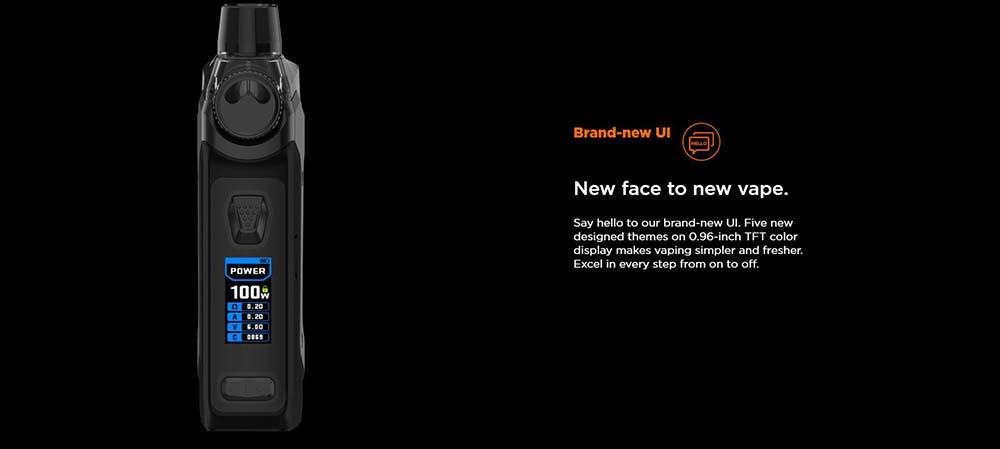 Geekvape Aegis Boost Pro 100w With Brand new UI