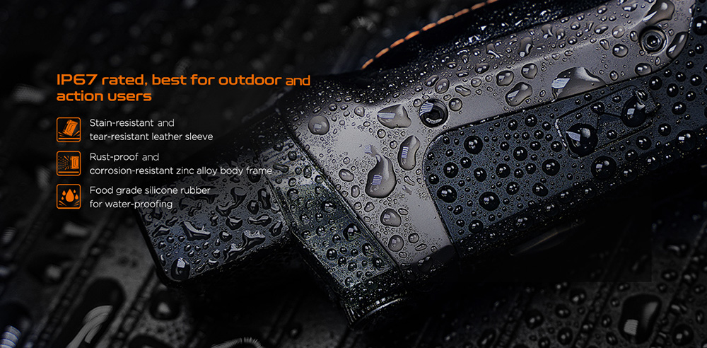Aegis Boost Kit With Waterproof Feature