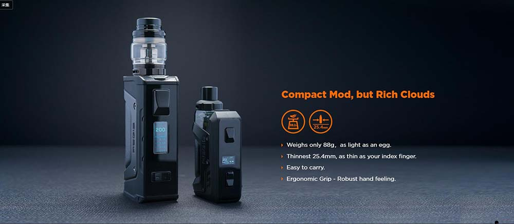 Aegis Hero Kit With Compact Structure