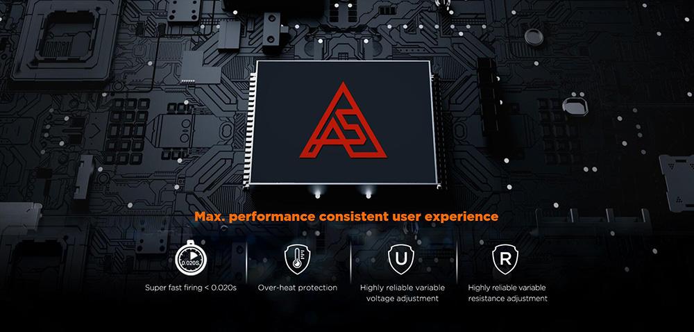 Geekvape Aegis Max Kit Integrates Advanced Chipset