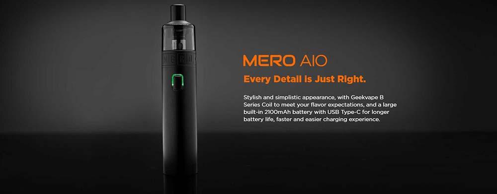 Geekvape Mero AIO Starter Kit Review