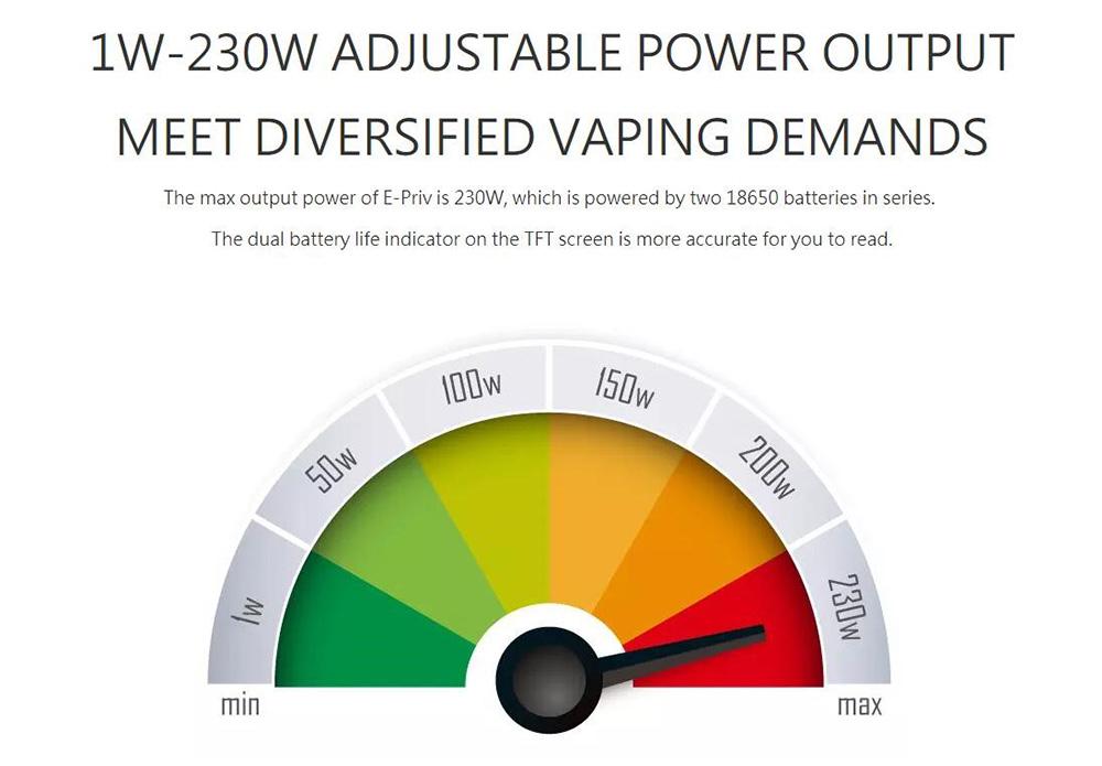 Smok E-PRIV 230W Vape Kit