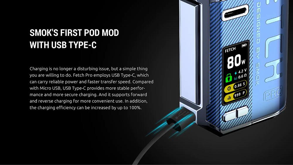 Smok Fetch Pro 80W Pod Kits
