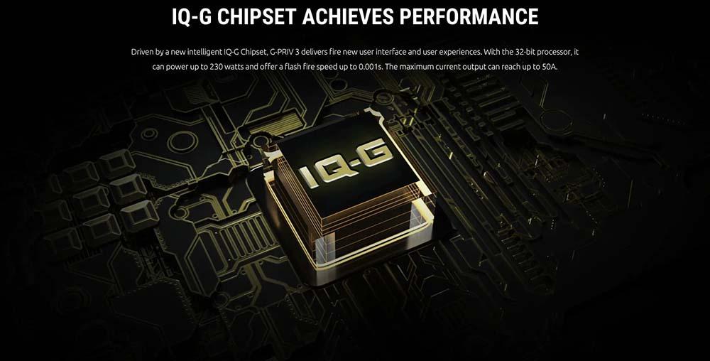 Smok G-PRIV 3 230W Kit WIth IQ-G Chipset
