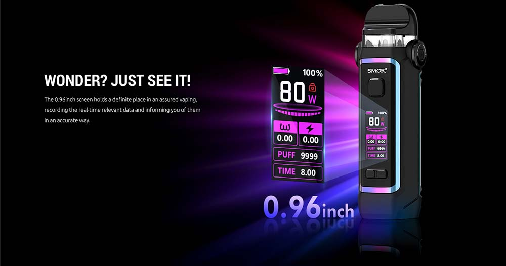 IPX80 Pod Kit Adopts 0.96inch Display