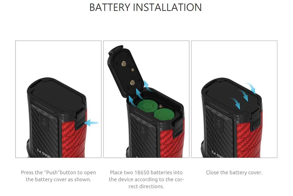 How To Install The Battery On Mag P3 Mod