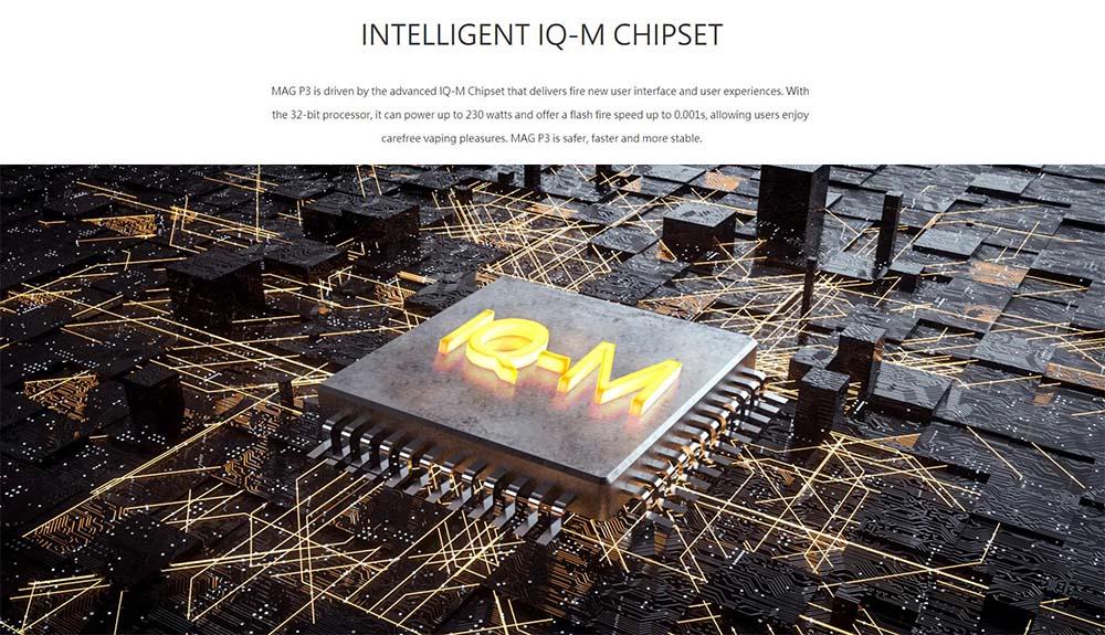 Mag P3 Adopts IQ-M Chipset