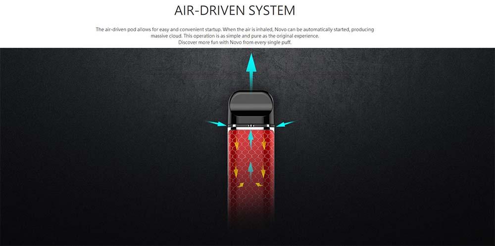 Smok Novo With Air Driven System