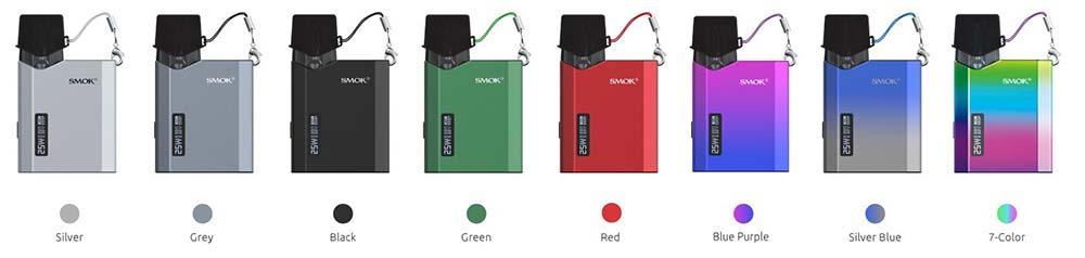 Smok NFIX Mate Pod Kit Colors Available