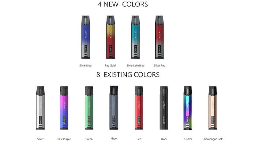 smok nfix kit colors available