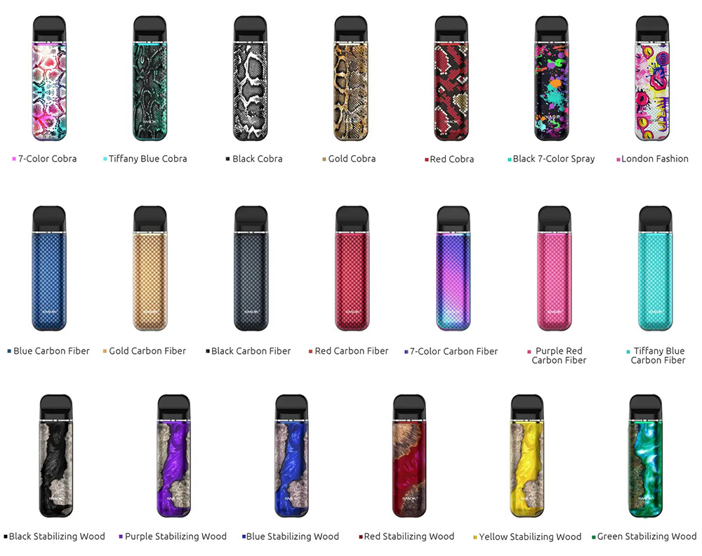 Smok Novo 2 New Colors