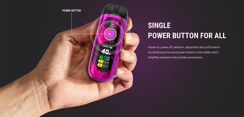 Pozz X 40W With Single Button Operation