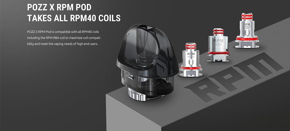 Pozz X compatible RPM Coils