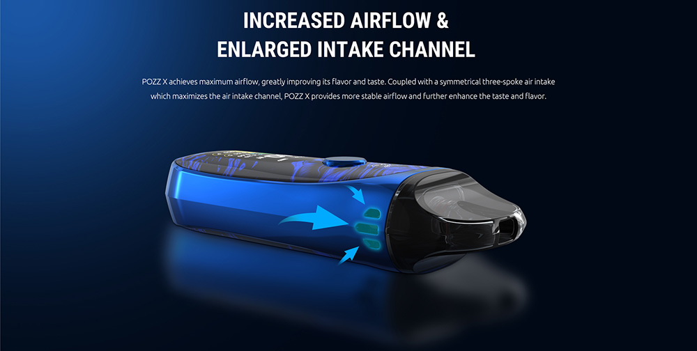 Pozz X Kit with increased AIrflow Channel