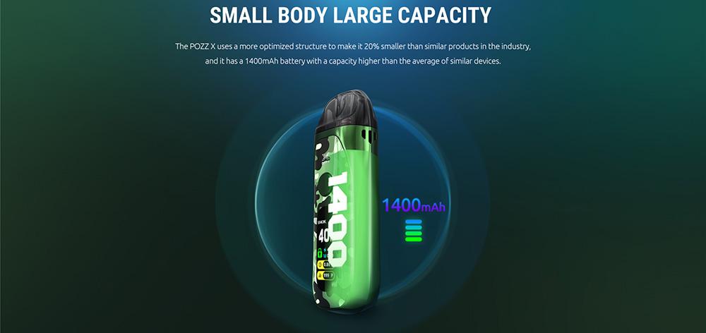 Smok Pozz Kit Built-in 1400mAh Battery