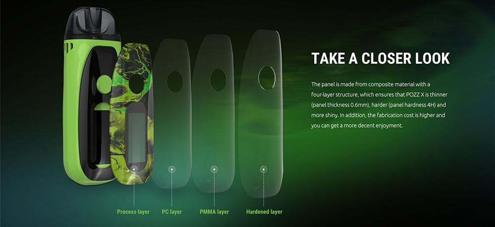 Pozz X Kit With 4 layers design