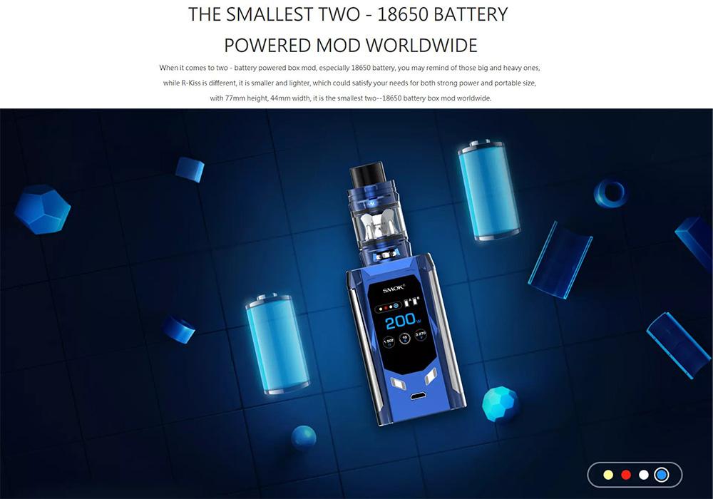 Smok R-KISS 200W Kit Review