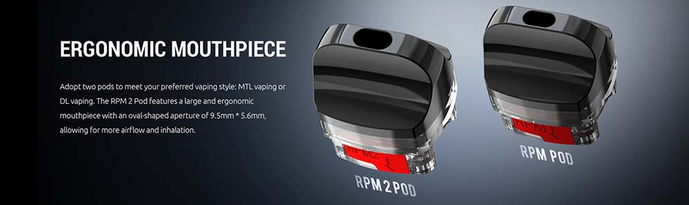 RPM2 Comes With 2Types Of Pods