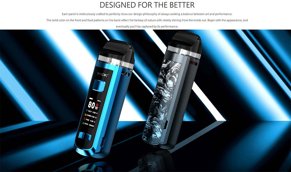 Smok RPM2 Appearance And Performance