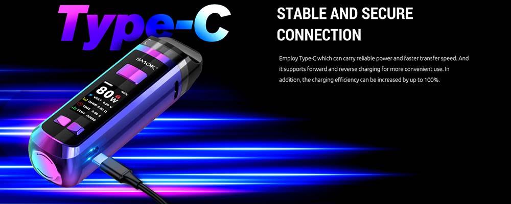 Smok RPM2 Pod Kit WIth USB Type-C Port