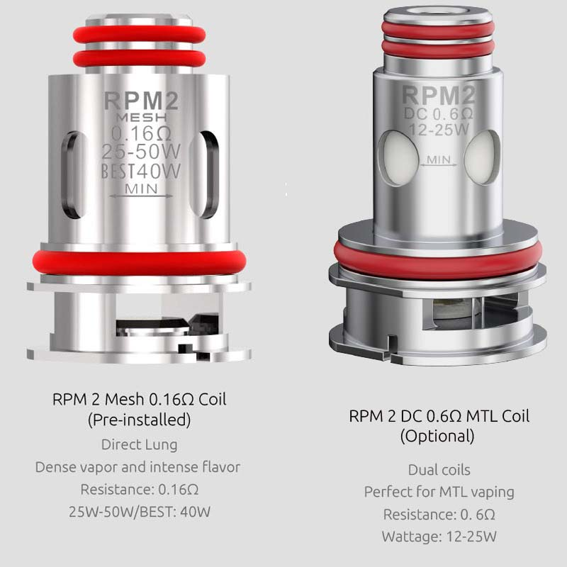 Smok RPM 2 Coils Options