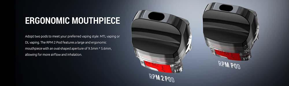 Smok RPM 2 Pod Options
