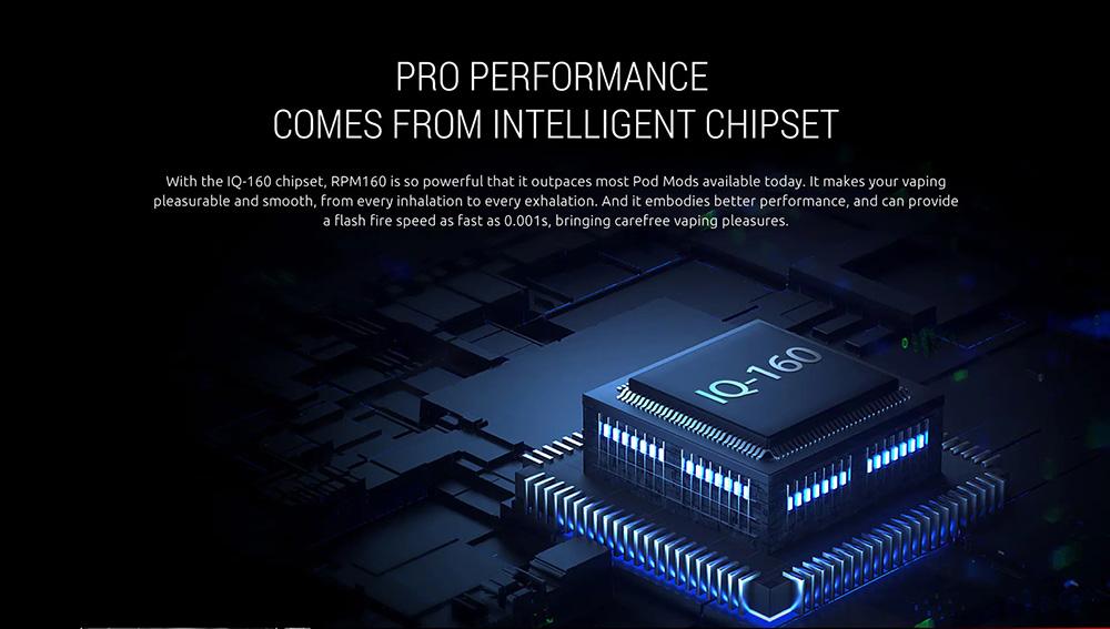 RPM160 Adopts IQ-160 Chipset