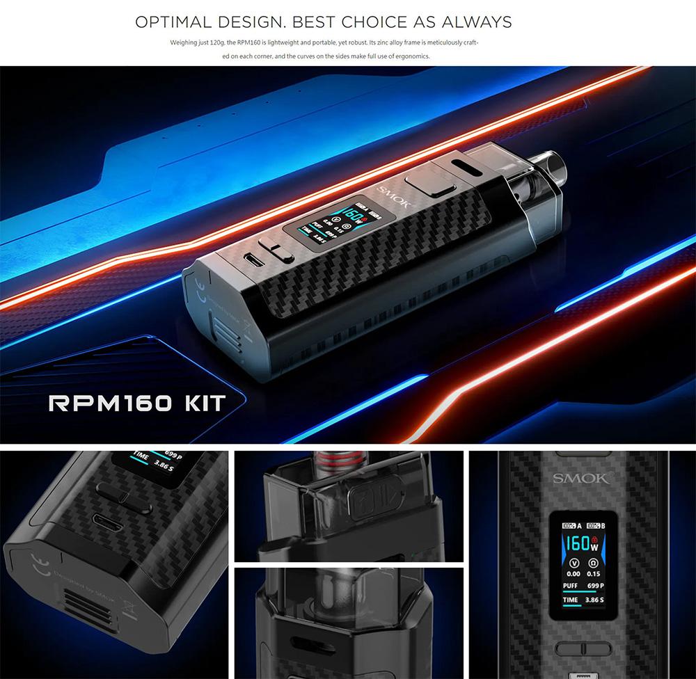 RPM160 Pod Kit With Optimal Design