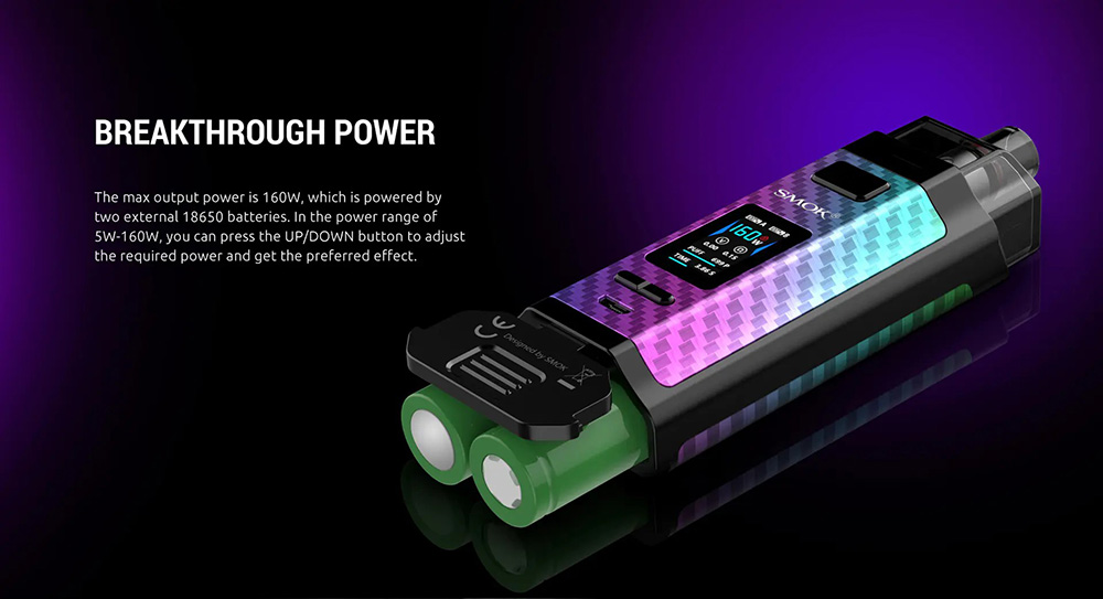 Max Output Power Of RPM160 Up to 160W