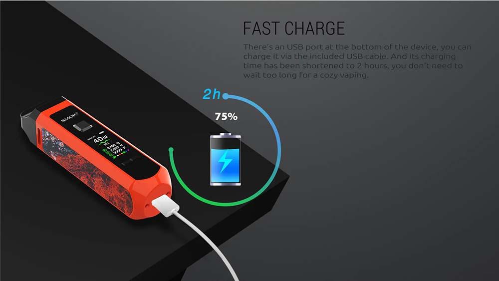 Smok RPM40 Vape Pod Kit With Fast USB Charing Port
