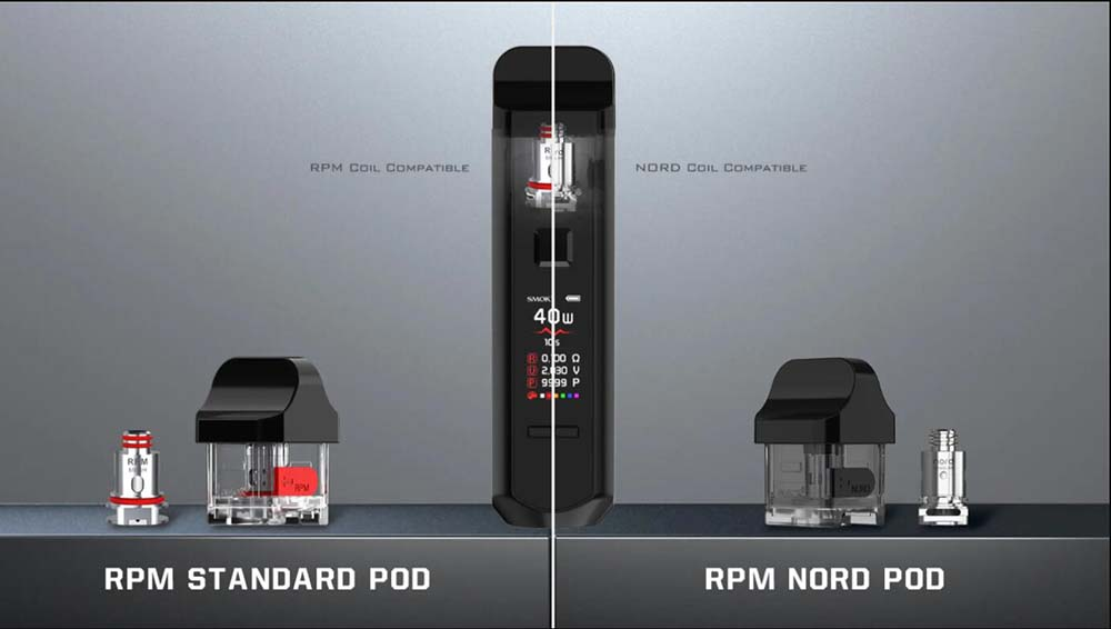 RPM40 Pod Options