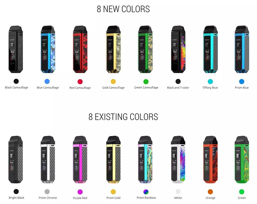 Smok RPM40 New Colors