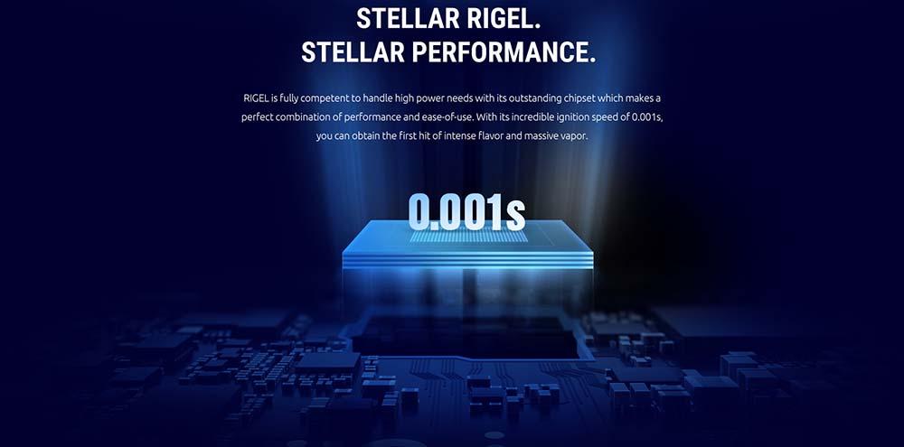 Rigel 230W Box Mod Adotps Advanced Chipset