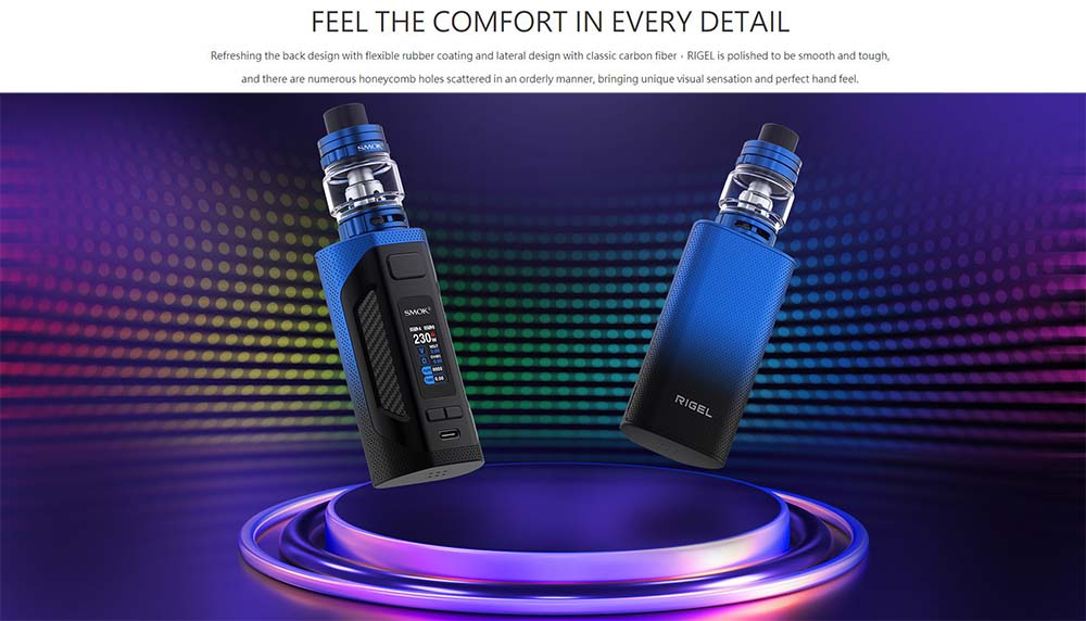 Smok Rigel 230W With Flexible Rubber Coating