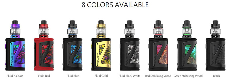 Smok Scar-18 Colors Available