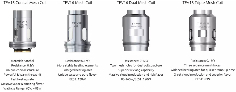 Smok TFV16 Coils For Sale